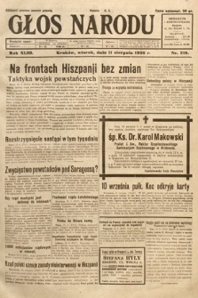 Głos Narodu. 1936, nr219