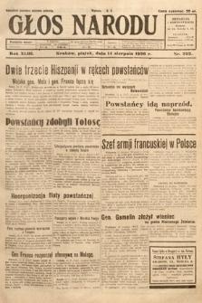 Głos Narodu. 1936, nr222