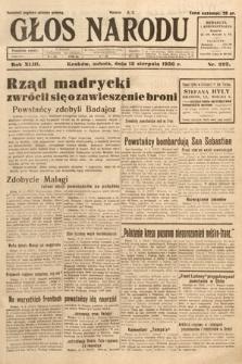 Głos Narodu. 1936, nr223