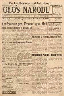 Głos Narodu. 1936, nr224