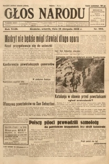 Głos Narodu. 1936, nr225