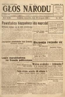 Głos Narodu. 1936, nr227