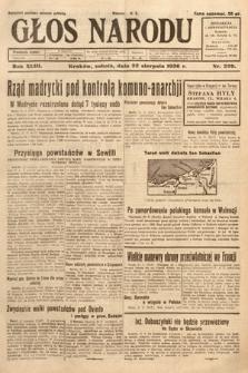 Głos Narodu. 1936, nr229