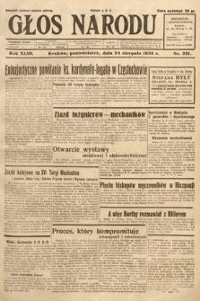 Głos Narodu. 1936, nr231