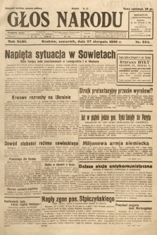 Głos Narodu. 1936, nr234