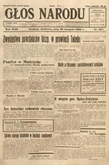 Głos Narodu. 1936, nr237