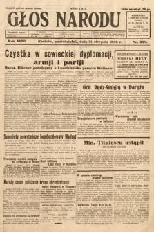 Głos Narodu. 1936, nr238