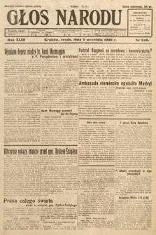 Głos Narodu. 1936, nr240