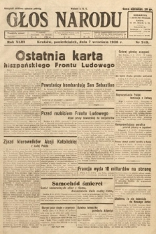 Głos Narodu. 1936, nr245