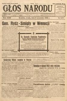 Głos Narodu. 1936, nr247