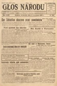 Głos Narodu. 1936, nr251