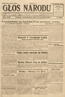 Głos Narodu. 1936, nr252