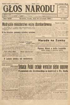 Głos Narodu. 1936, nr254