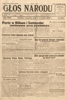 Głos Narodu. 1936, nr255