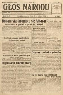 Głos Narodu. 1936, nr257