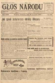 Głos Narodu. 1936, nr258