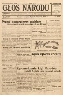 Głos Narodu. 1936, nr260