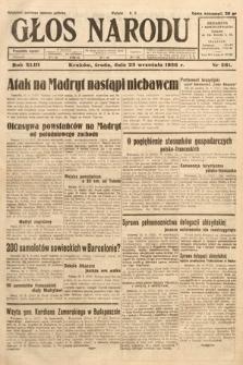 Głos Narodu. 1936, nr261