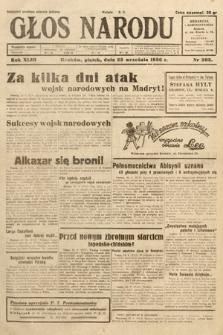 Głos Narodu. 1936, nr263