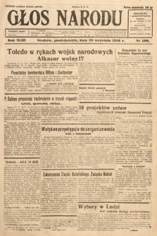 Głos Narodu. 1936, nr266