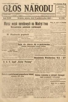 Głos Narodu. 1936, nr270