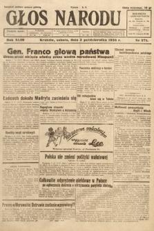Głos Narodu. 1936, nr271