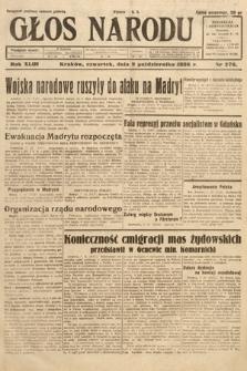 Głos Narodu. 1936, nr276