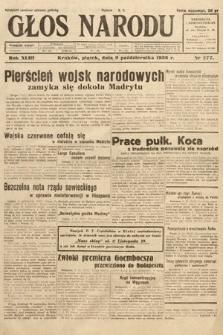 Głos Narodu. 1936, nr277
