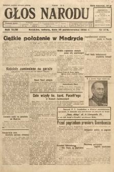 Głos Narodu. 1936, nr278