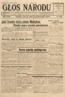 Głos Narodu. 1936, nr281
