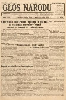 Głos Narodu. 1936, nr282