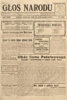 Głos Narodu. 1936, nr286