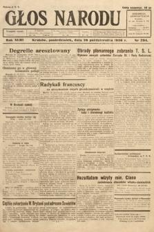 Głos Narodu. 1936, nr294