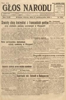 Głos Narodu. 1936, nr295