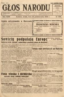 Głos Narodu. 1936, nr296