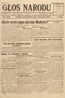 Głos Narodu. 1936, nr301