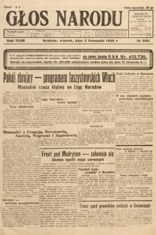 Głos Narodu. 1936, nr302