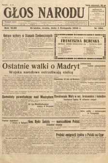 Głos Narodu. 1936, nr303