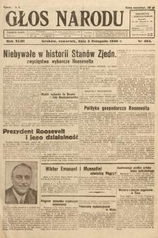 Głos Narodu. 1936, nr304