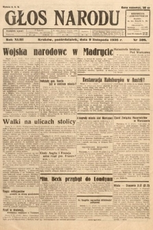 Głos Narodu. 1936, nr308