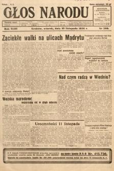 Głos Narodu. 1936, nr309