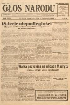 Głos Narodu. 1936, nr311