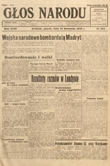 Głos Narodu. 1936, nr312
