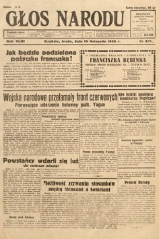Głos Narodu. 1936, nr317
