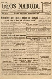 Głos Narodu. 1936, nr320