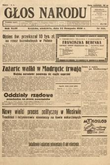 Głos Narodu. 1936, nr321