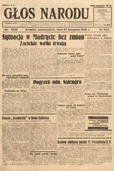 Głos Narodu. 1936, nr322