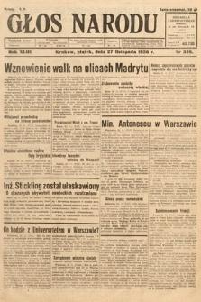 Głos Narodu. 1936, nr326