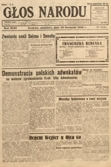 Głos Narodu. 1936, nr328