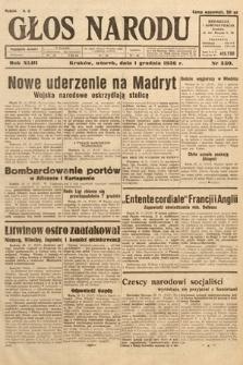 Głos Narodu. 1936, nr330